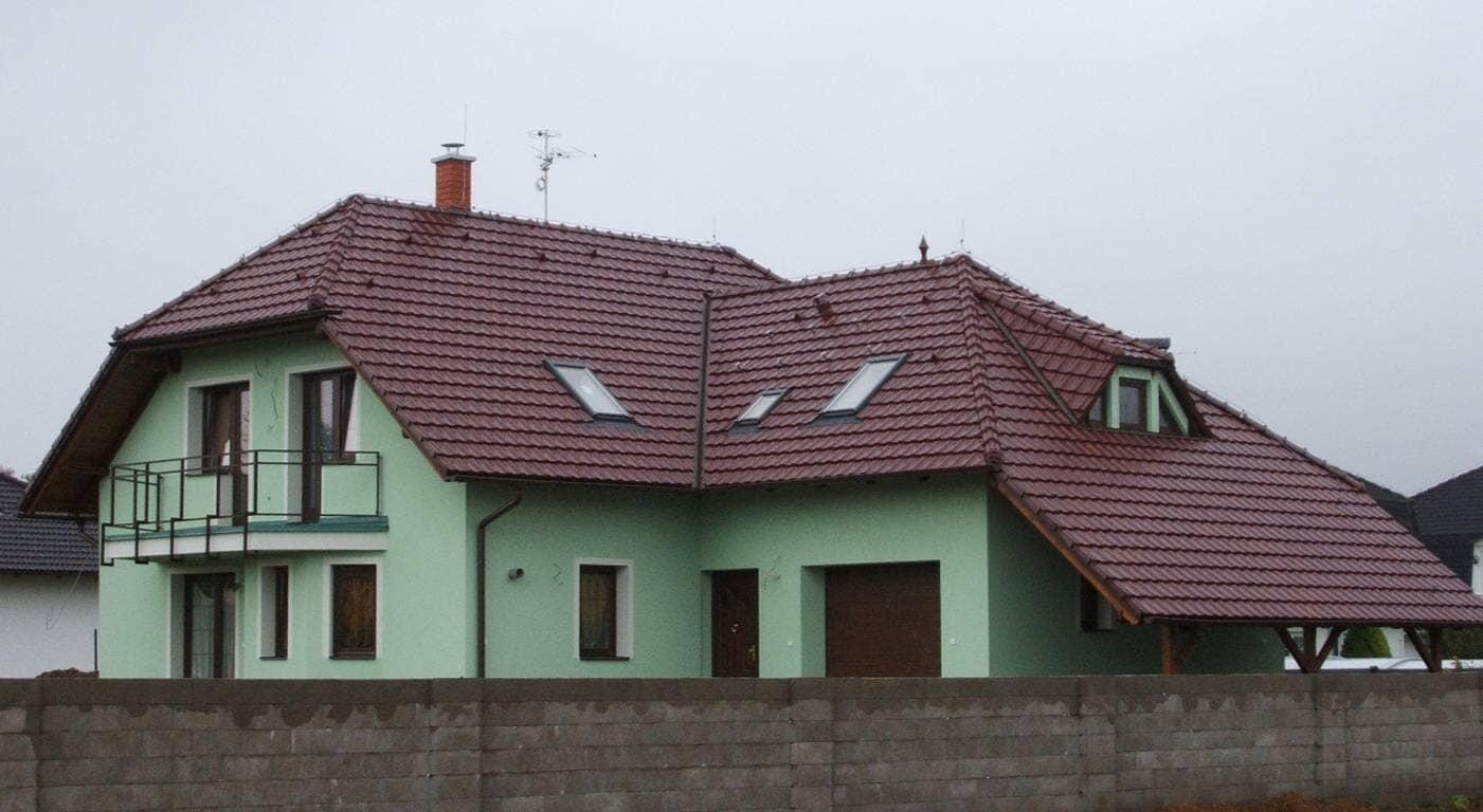 Střechy Kutná Hora - Kurcsa - reference rodinné domy 1